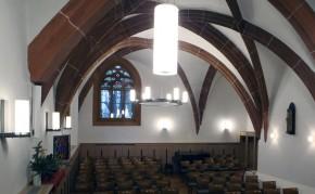 Erneuerung und Sanierung der Winterkirche Mittweida