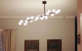 Maßgeschneiderte Beleuchtung für einen Bungalow