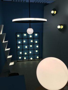 atelier areti mit Leuchten von idee. design. licht. jetzt auch in Los Angeles